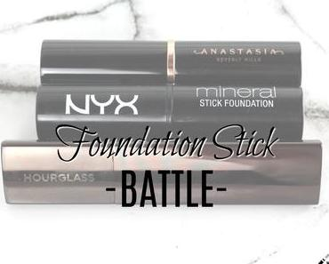|Battle| Foundation Stick Vergleich w/ Hourglass, Nyx & Anastasia Beverly Hills