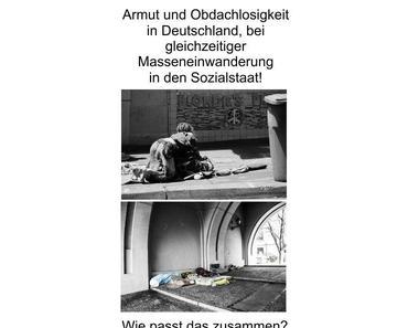 Die Politik ist am Ende, Zerstörung der AfD, geförderte Sozialmigration und Armut unter der deutschen Bevölkerung