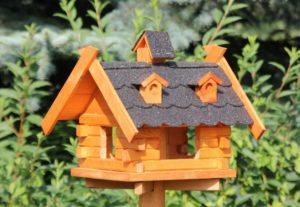 Die Zeit für das Vogelhaus beginnt