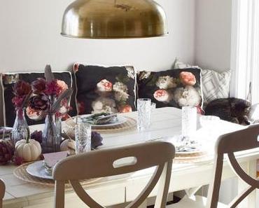 Mein Esszimmer und Tischdeko im Herbst