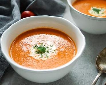 Tomaten-Orangen-Suppe