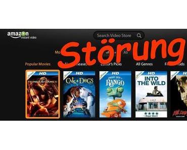 Amazon Video aktuell mit Störungen