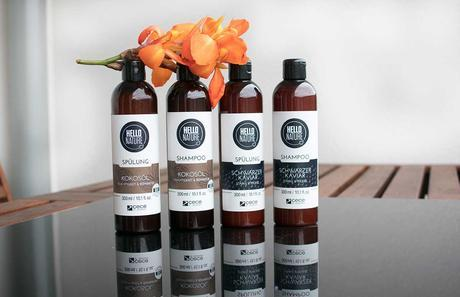 HELLO NATURE Haarprodukte mit Kaviar und Kokosöl