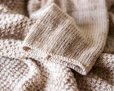 Handgemacht - lässigen Pulli selber stricken und GRATIS Anleitung