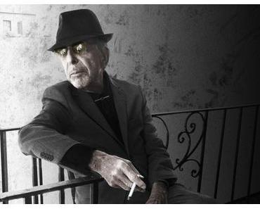 NEWS: Letzter Gedichtband von Leonard Cohen erscheint 2018