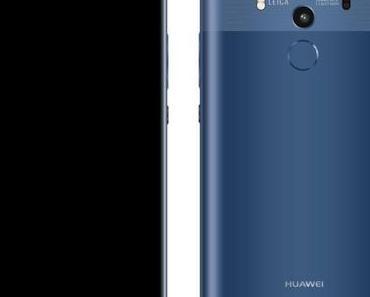 Huawei Mate 10 Pro zeigt sich auf Render-Bilder in Schwarz und Blau
