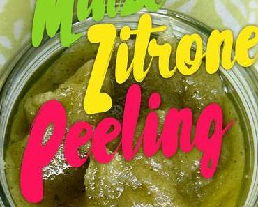 Sommerhauch Minze Zitrone Peeling