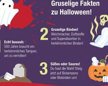 Bloody Tampon-Facts: Gruselige Fakten zu Halloween