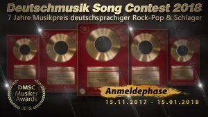 """7 Jahre """"Deutschmusik Song Contest – Preis für deutschsprachige Musik"""""""