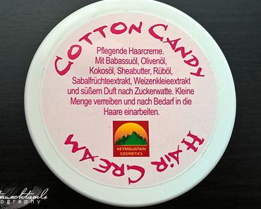 Testbericht | Naturkosmetik – Cotton Candy Haarcreme