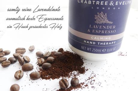 Crabtree & Evelyn - Lavender & Espresso Kollektion  - Triple Milled Soap /  Hand Therapy / Body Cream