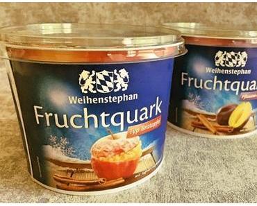 """Weihenstephan Fruchtquark – erstmals zwei Wintersorten - + + + erstmals winterliche Fruchtquark Sorten ++ """"Typ Bratapfel"""" und """"Pflaume Zimt"""" + + +"""