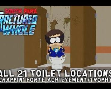 Guide: South Park The Fractured But Whole – Alle 21 Toiletten für  Crappin' Forte Achievement/Trophäe