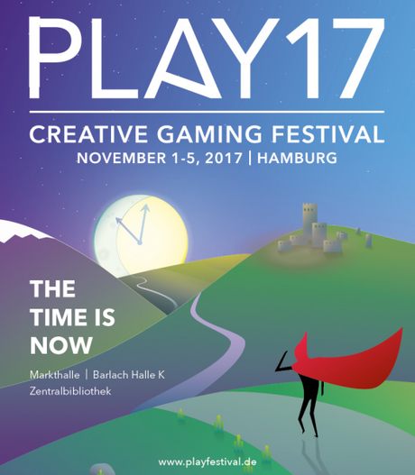 PLAY17 – 10. internationales Creative Gaming Festival vom 1. bis 5. November in Hamburg
