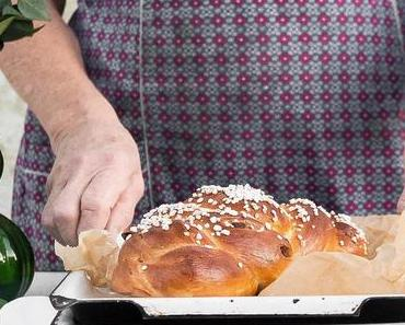 Rezept: Allerheiligen Striezel mit Step-by-Step Anleitung / Traditional Challah Bread Recipe