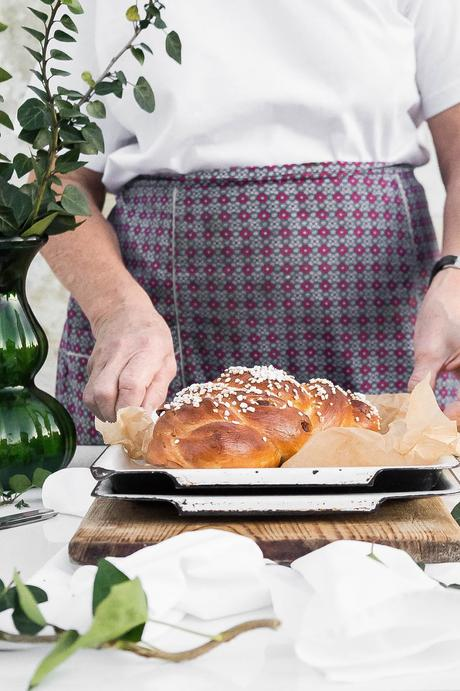 Rezept: Allerheiligen Striezel mit Step-by-Step Anleitung / Traditional Challah Bread Recipe