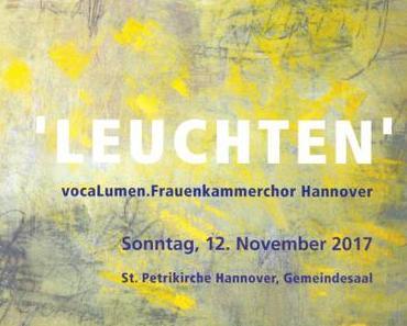 Frauenkammerchor Hannover vocaLumen unter Thomas Reuter - Vokalmusik a capella, November 2017