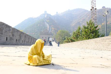 beijing china great wall guardians of time manfred kielnhofer contemporary art fine statue modern sculpture statue gallery museum exclusive luxury lightart design arts