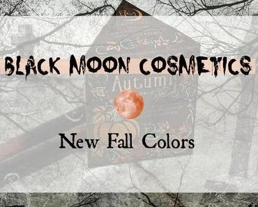 |Black Moon Cosmetics| New Fall Colors / Autumn Trio Review & Swatches