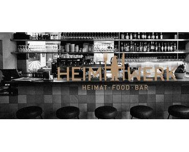 HeimWerk Schwabing – Die Bar und ihre Drinks - + + + ca. 35 verschiedene Drinks ++ große Auswahl an Spirituosen ++ Signature Drinks + + +