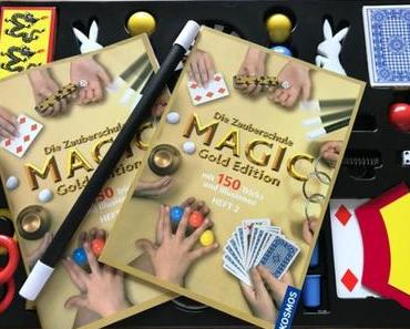 KOSMOS Zauberschule Magic Gold Edition und Verlosung