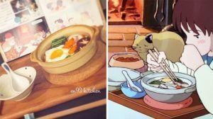 Japanerin kocht Anime-Speisen nach