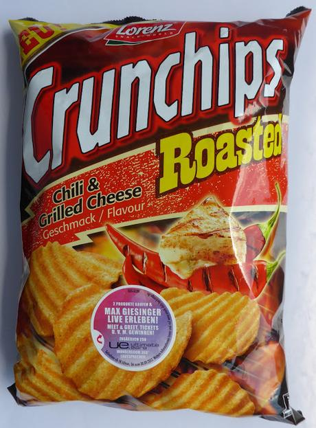 Lorenz Snack-World - Crunchips Roasted - Chili & Grilled Cheese