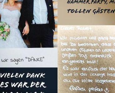 Hochzeitssaison 2017 – DANKE