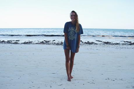 OOTD: T-Shirt at the Beach