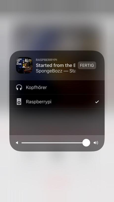 AirPlay Streaming mit dem Raspberry Pi und dem pHAT DAC