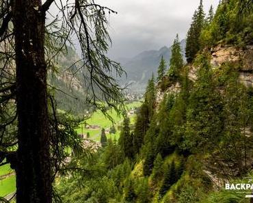 Wanderung zum Refugio Alpenzu (Valle d'Aosta)