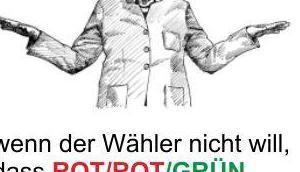 Merkel, GRÜNE Kanzlerin, macht immer weiter blendet jeglichen verursachten Volksschaden