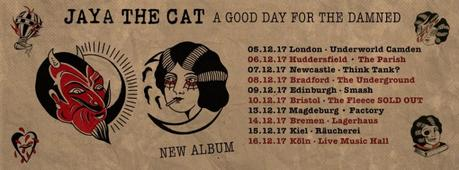 A Good Day For The Damned – das fünfte Studioalbum der höchst beliebten Ska-Reggae-Punk-Band JAYA THE CAT ist draußen // Video + full Album stream