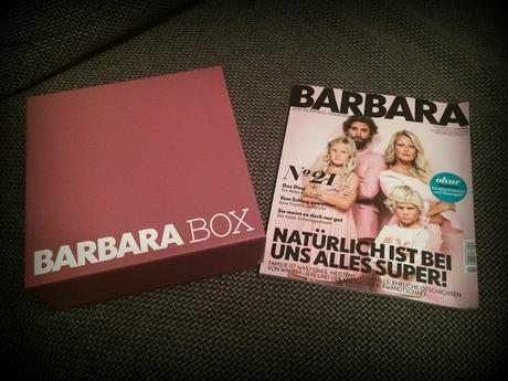 #BarbaraBox – Winterbox – 04/2017- #unboxing