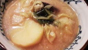 Rezept: Goma Miso Yosenabe (Sesam-Miso-Eintopf) Reiskocher
