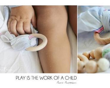 DIY fürs Baby - Greiflinge aus Holz