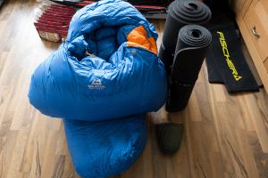 Schlafsack: Mountain Equipment Everest