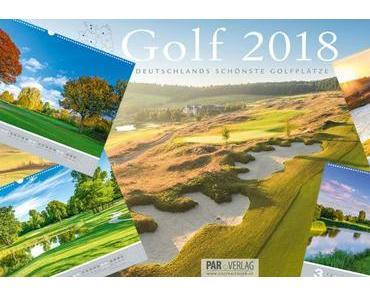 Jetzt bestellen – den Golfkalender 2018