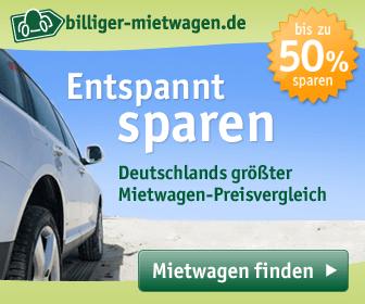 Kunden des Vergleichsportals billiger-mietwagen.de sparen dank Stornoregelungen