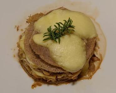 Buchweizencrêpes mit Sauerkraut (ovo-lacto-vegetarisch)