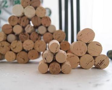 DIY Korken Weihnachtsbaum