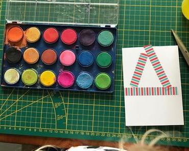Weihnachtskarten selber basteln mit Kindern - Easypeasy DIY