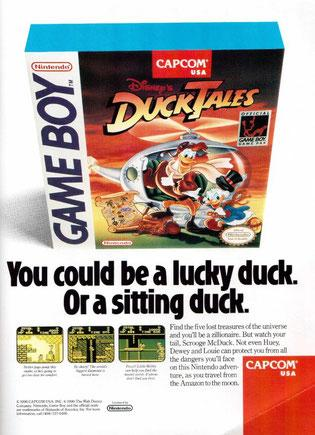 Retro Corner - Duck Tales Nintendo Game Boy