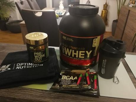 optimum nutrition, gold standard zone, whey protein, bcaa, pre-workout, post-workout