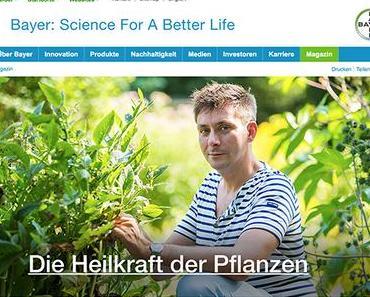Gesponserter Beitrag von Bayer: die Heilkraft der Pflanzen für unsere Familie