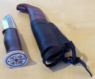 Weihnachtstip für Kurzentschlossene Sami Messer von Karesuando Kniven