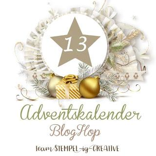 Stampin UP! Team Adventskalender Blog Hop - Türchen Nr. 13