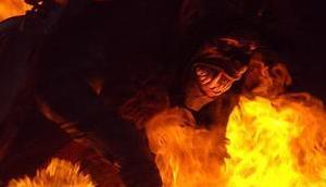 Bild Woche: Krampus Feuerkreis