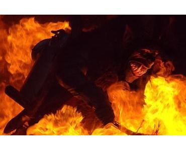 Bild der Woche: Krampus im Feuerkreis
