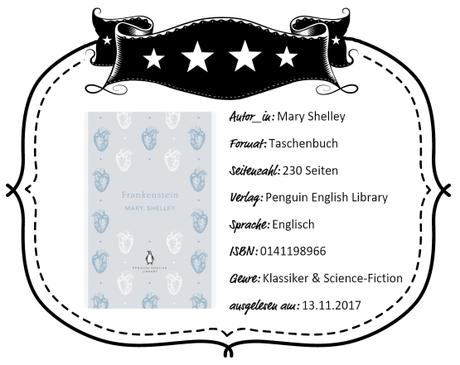 Mary Shelley – Frankenstein